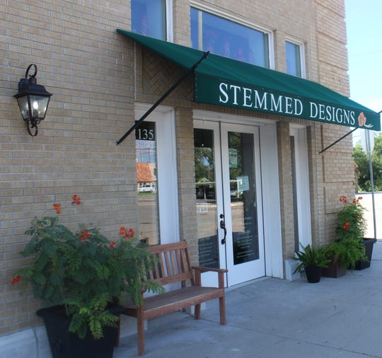 Storefront of Stemmed Designs, 135 W Twohig Ave, Suite E, on Wednesday, Sept. 21, 2018.