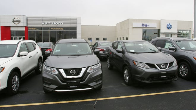 The Russ Darrow Nissan/VW franchise was purchased by the Van Horn Group this week.