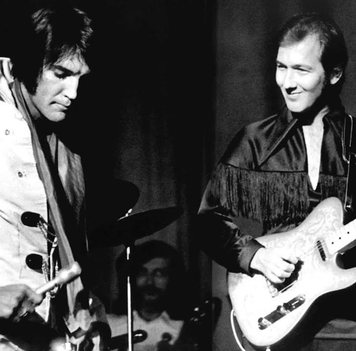 James Burton Christmas concert will celebrate memories of Elvis