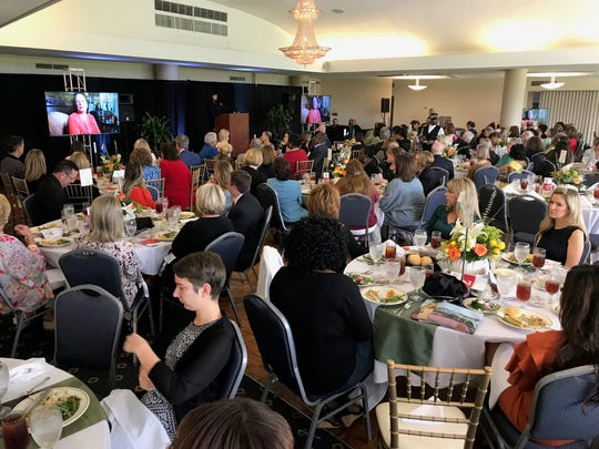 The 2018 Most Influential Woman Awards luncheon was Friday at East Ridge Country Club.