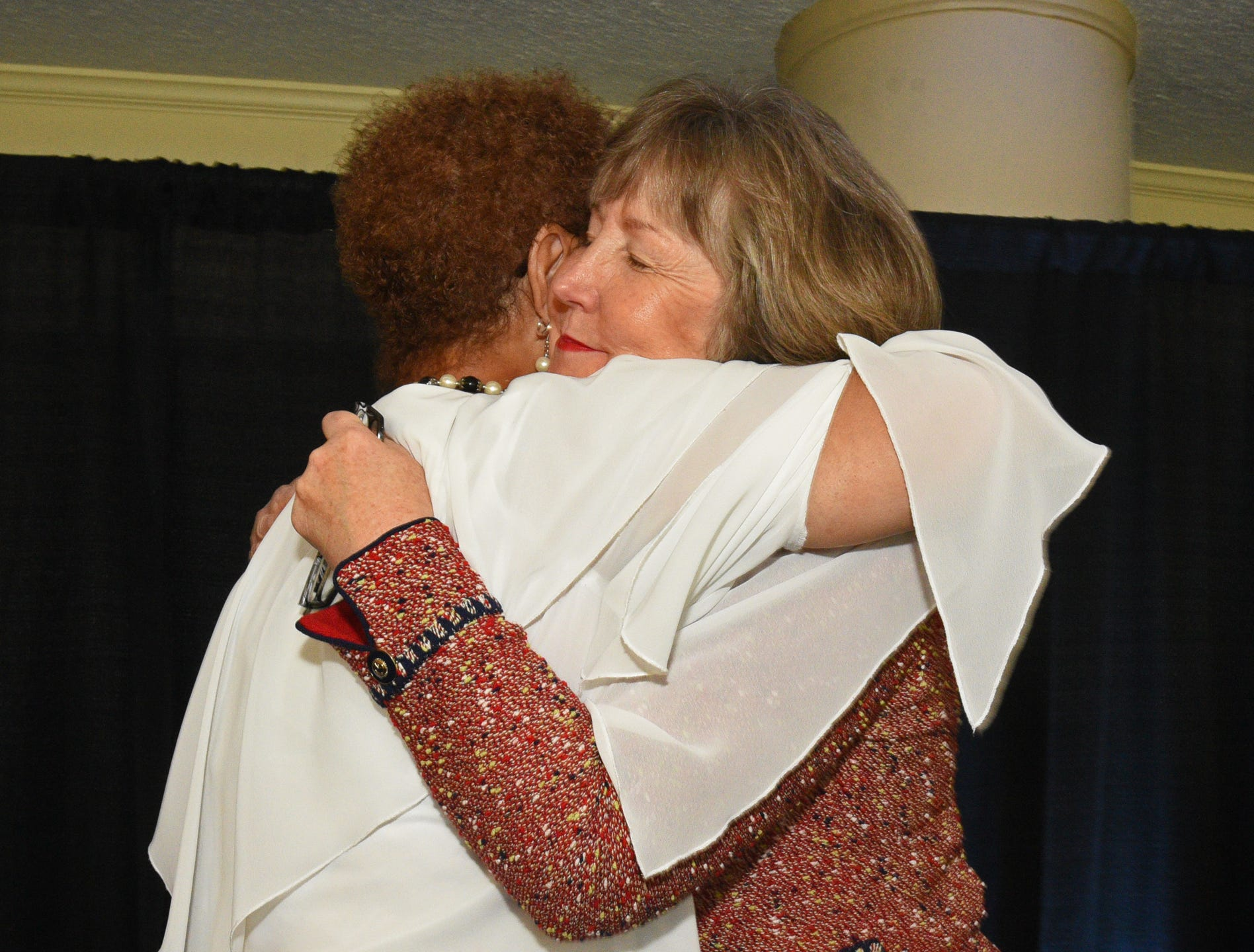 The 2018 Virginia K. Shehee Most Influential Woman Award. Photo by Stan Carpenter