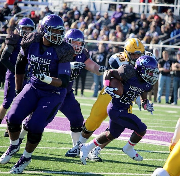 University of Sioux Falls alum Trey Pipkins drafted by Los Angeles Chargers