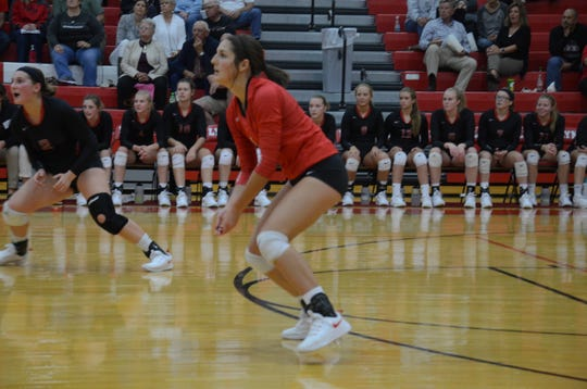 Junior Ella Simonson is back in the starting lineup after an injury early in the season.