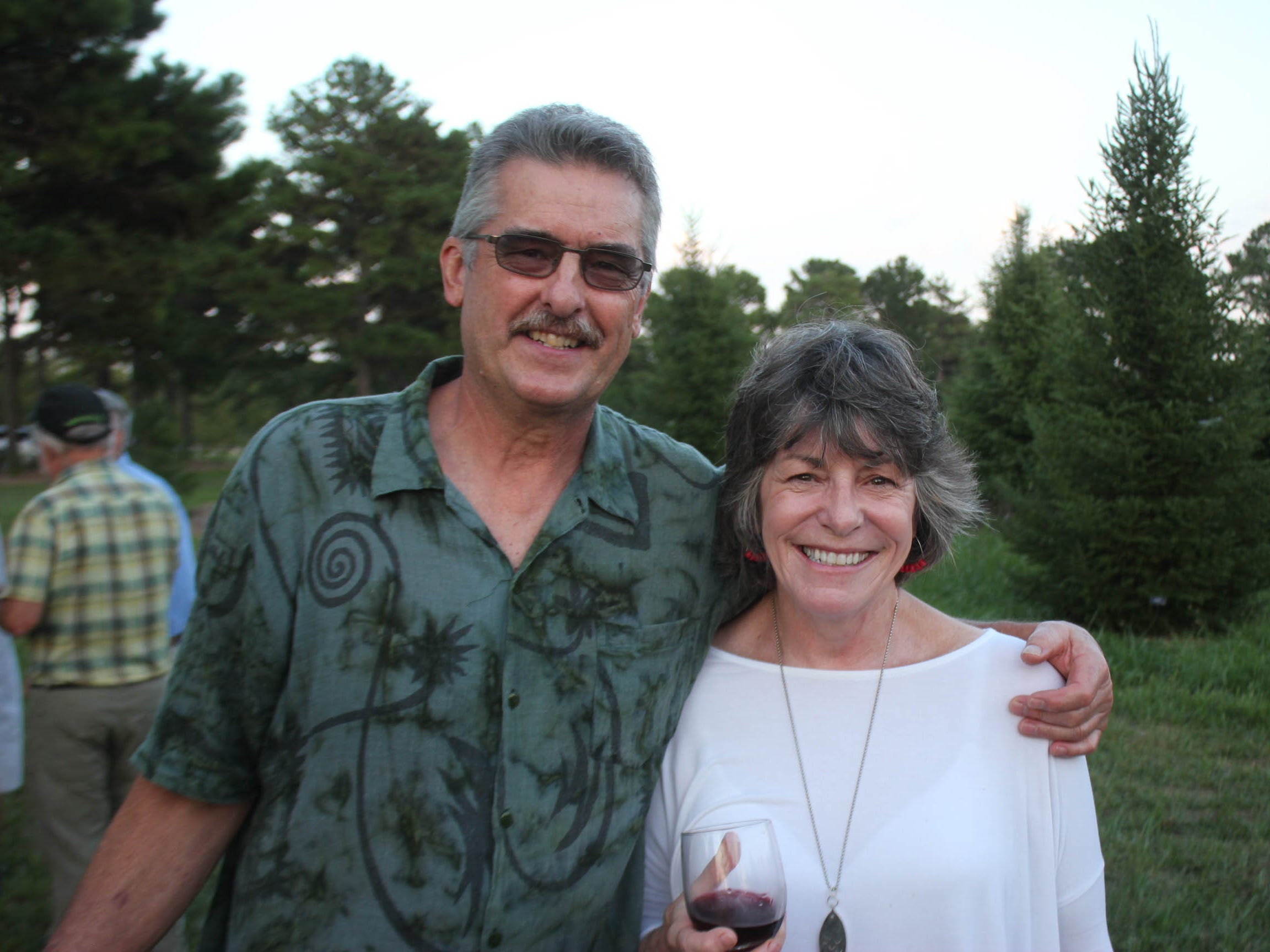 Tom Elmers and Gail Emrie