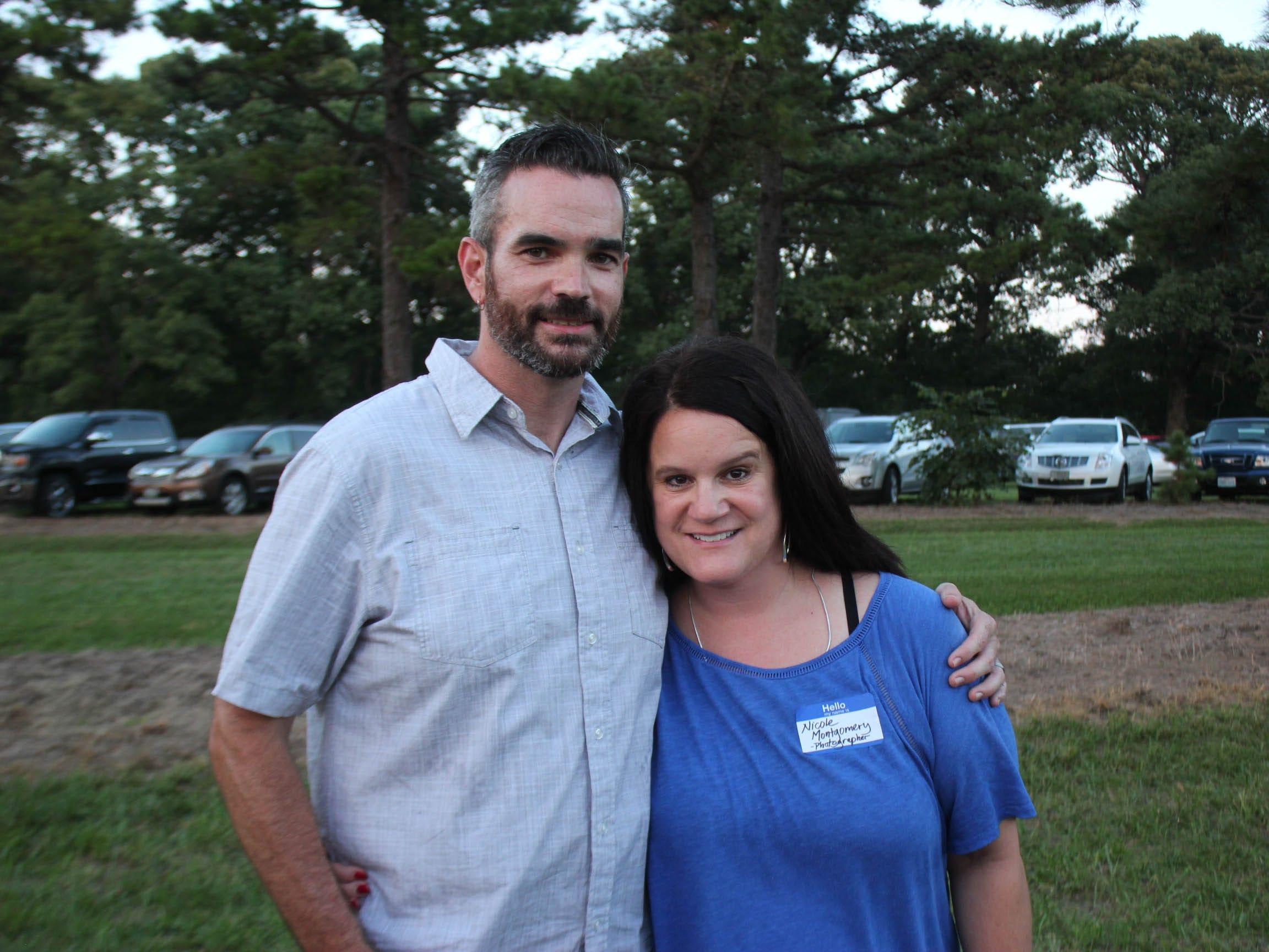 John Montgomery and Nicole Montgomery