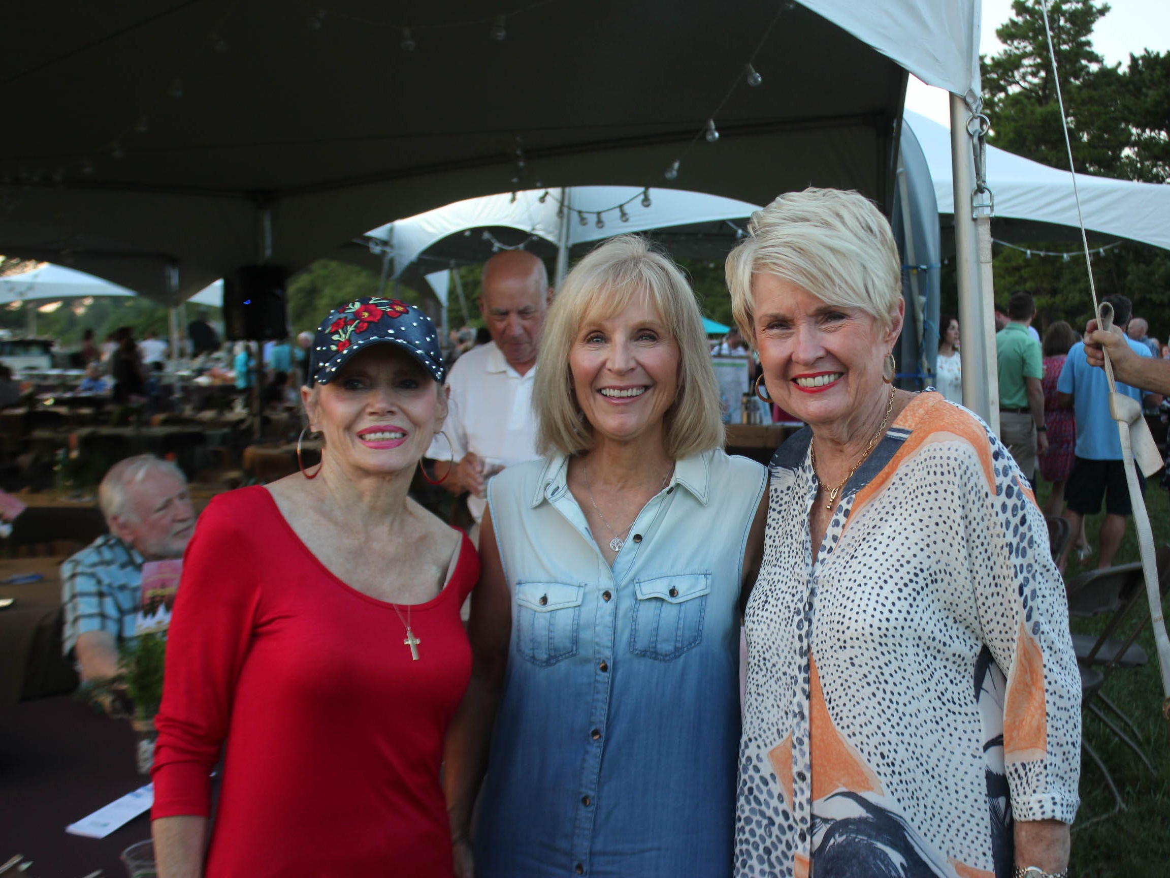 Sandra Lowther, Montene Staley and Judy Thompson