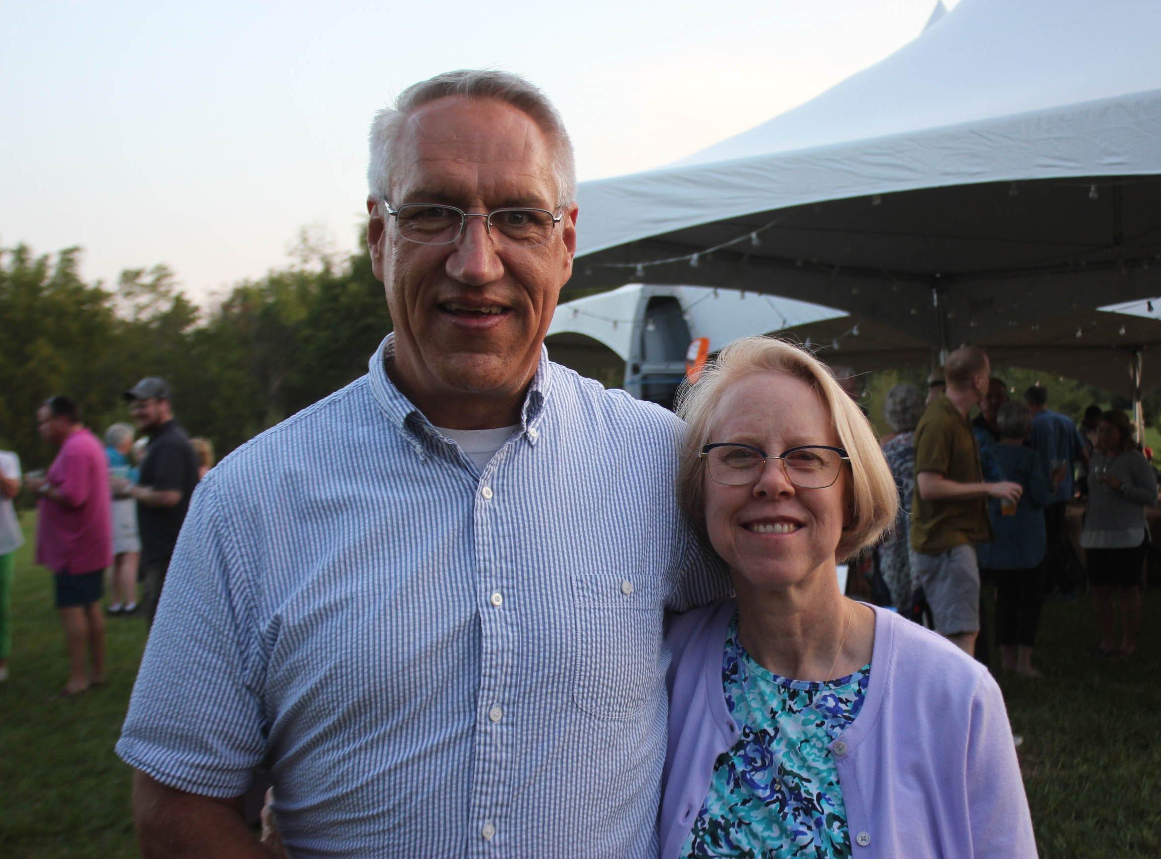 Brad Kielhofner and Gerri Keilhofner