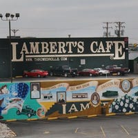 Son of Lambert's Cafe founder accused of sex trafficking two