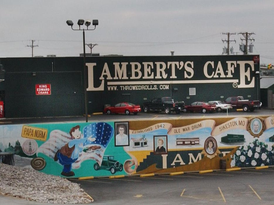 A file photo of Lambert's Cafe in Ozark
