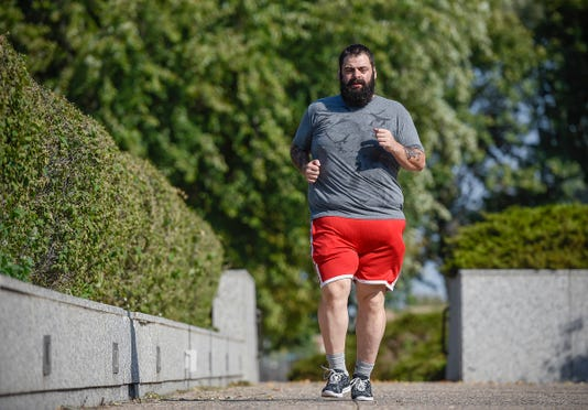 St. Cloud weight loss personal trainer Aaron Firkus