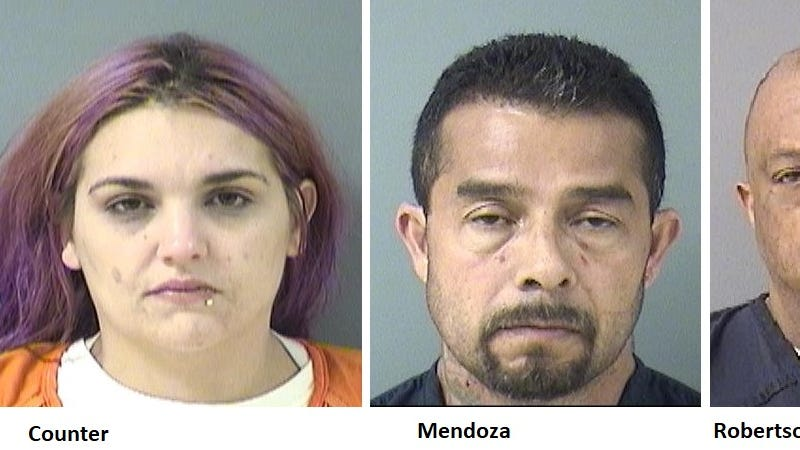 Three people were arrested after a disturbance in St. Cloud.