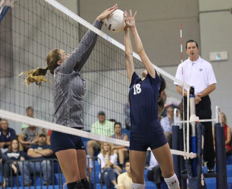 Growing pains, growth spurts abound for youngest Maclay volleyball team