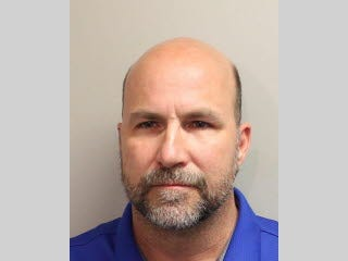 Don Crandall Jr. was booked into the Leon County Detention Center Thursday and released on $2,500 bail. He faces charges of improper exhibition of a firearm.