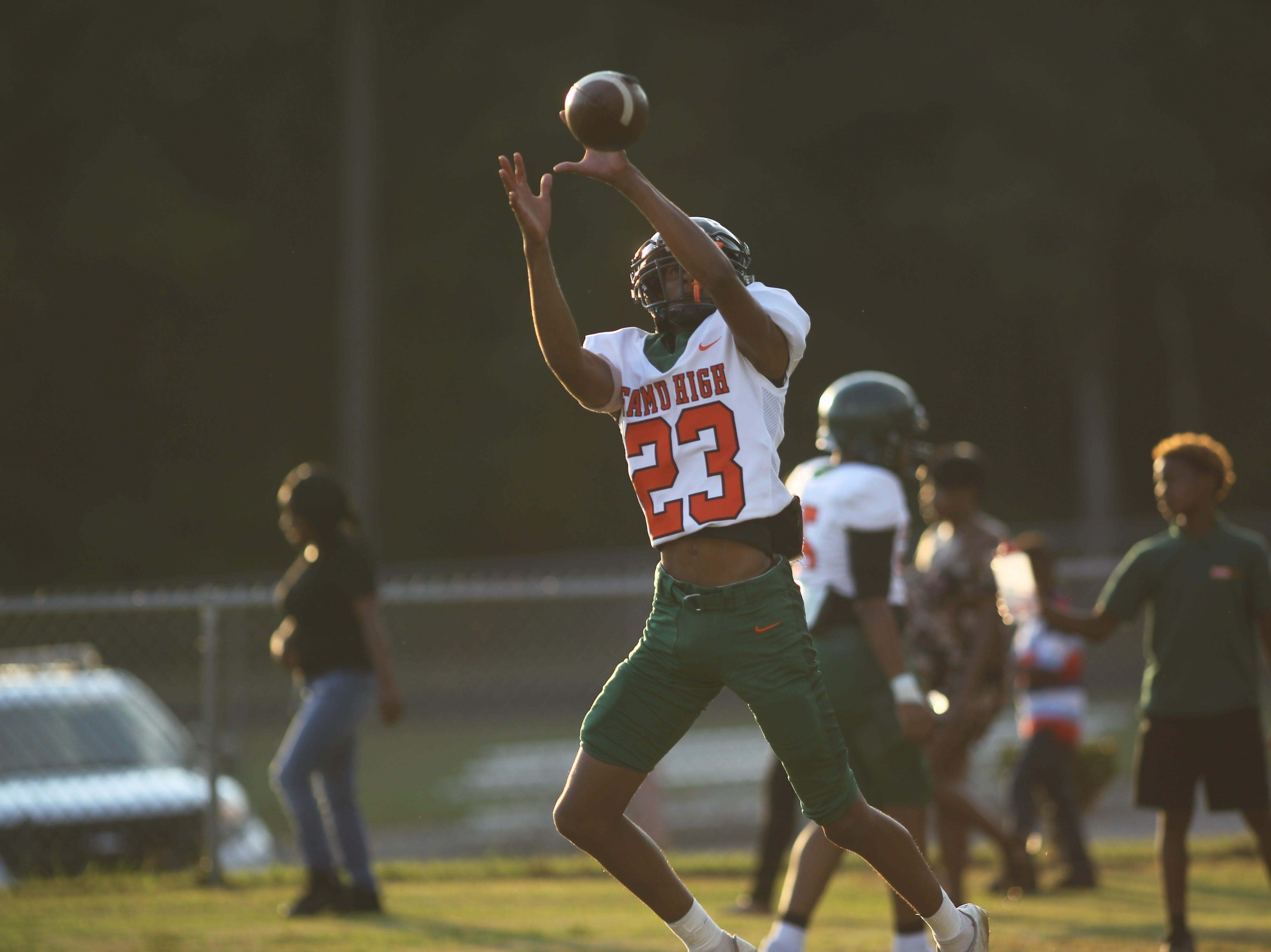Pre-game as FAMU DRS visits Jefferson County for a high school football game, Friday, Sept. 21, 2018.