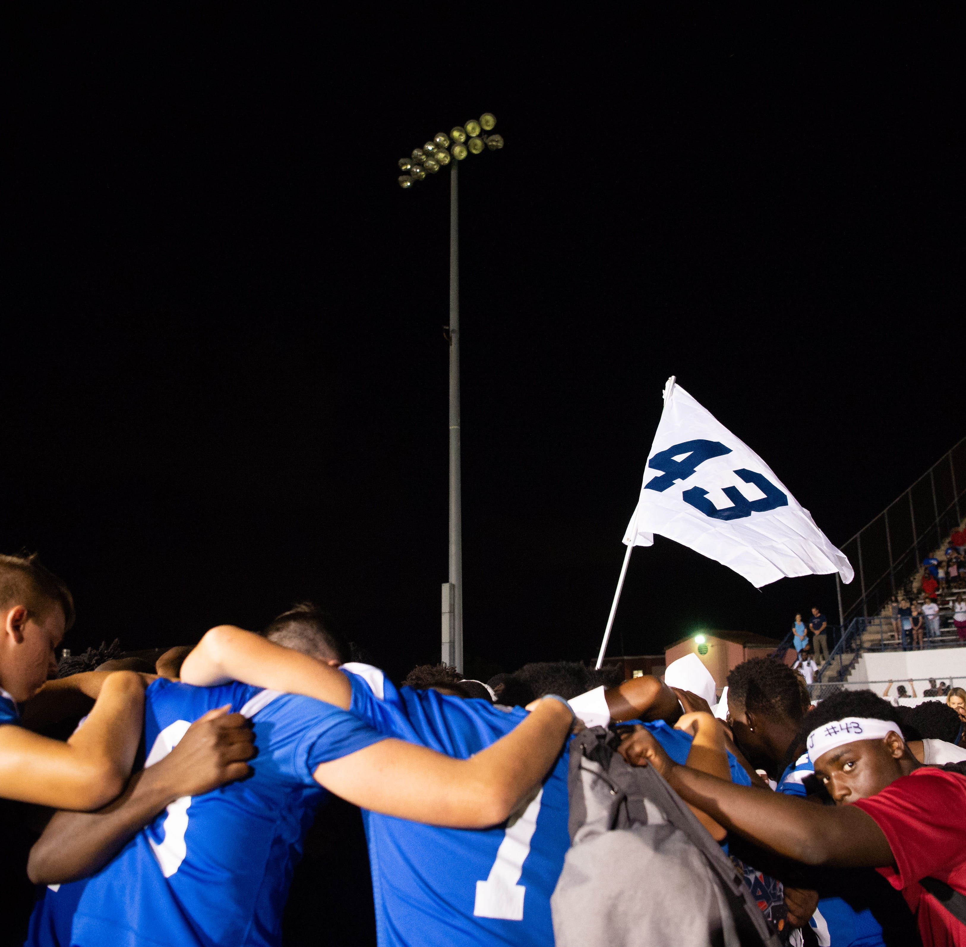 Sharks unite around classmate's death; Sebastian coach committed to keep momentum going