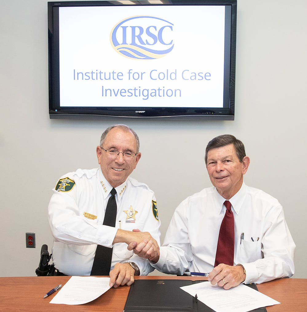 New IRSC Institute for Cold Case Investigation students to work alongside Martin County Sheriff