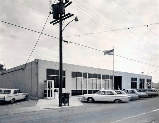 Post Office on 7th St. (aka MLK Jr. Blvd).  .