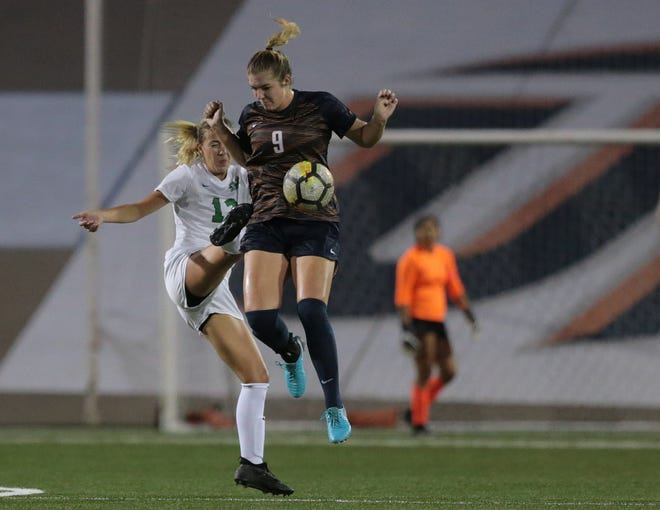UTEP sophomore April Pate, 32, will help lead the Miners in a pair of key Conference USA games -- Thursday at 7 p.m. against UAB and Sunday at 6 p.m. against Middle Tennessee.
