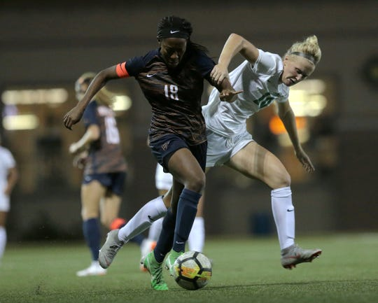 UTEP lost a tough game to Marshall 2-1 in the 107th minute. Both UTEP and Marshall scored in the second half forcing the game into overtime.