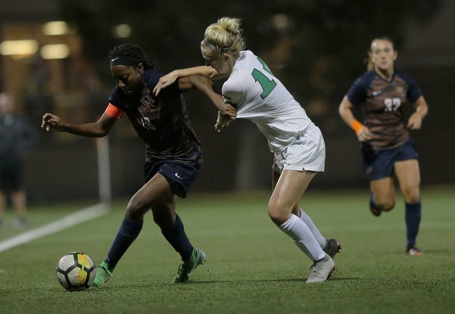 Junior Lauren Crenshaw will lead the Miners against Middle Tennessee in a Conference USA soccer match Sunday at 6 p.m. at University Field.
