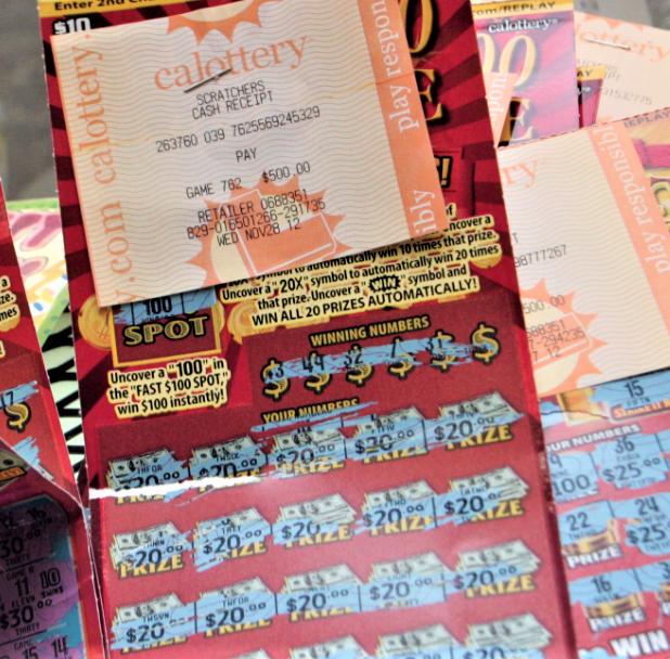 Oxnard lottery ticket scheme draws jail time