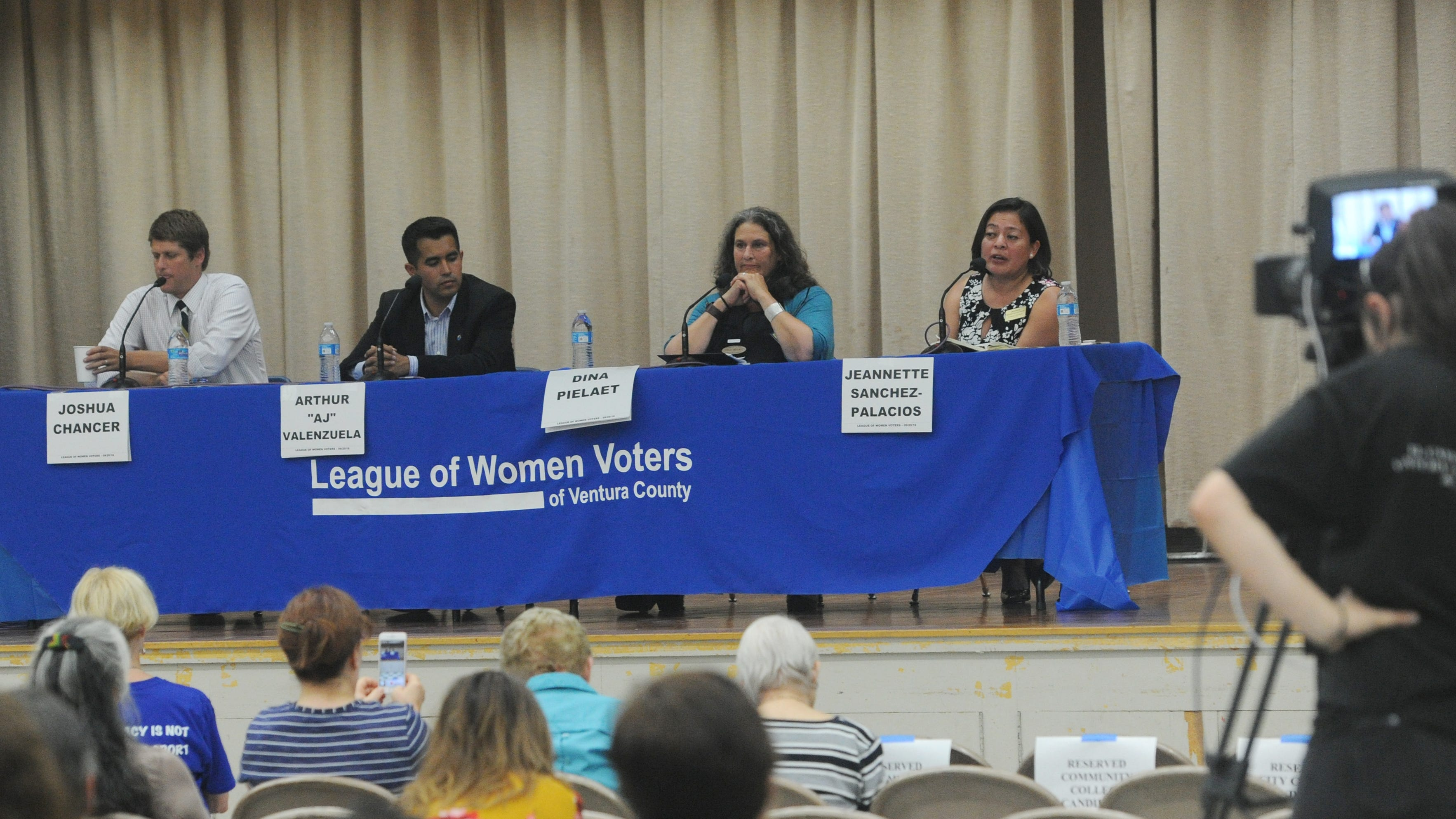 Community college board hopefuls talk school safety, partnerships and more at first forum