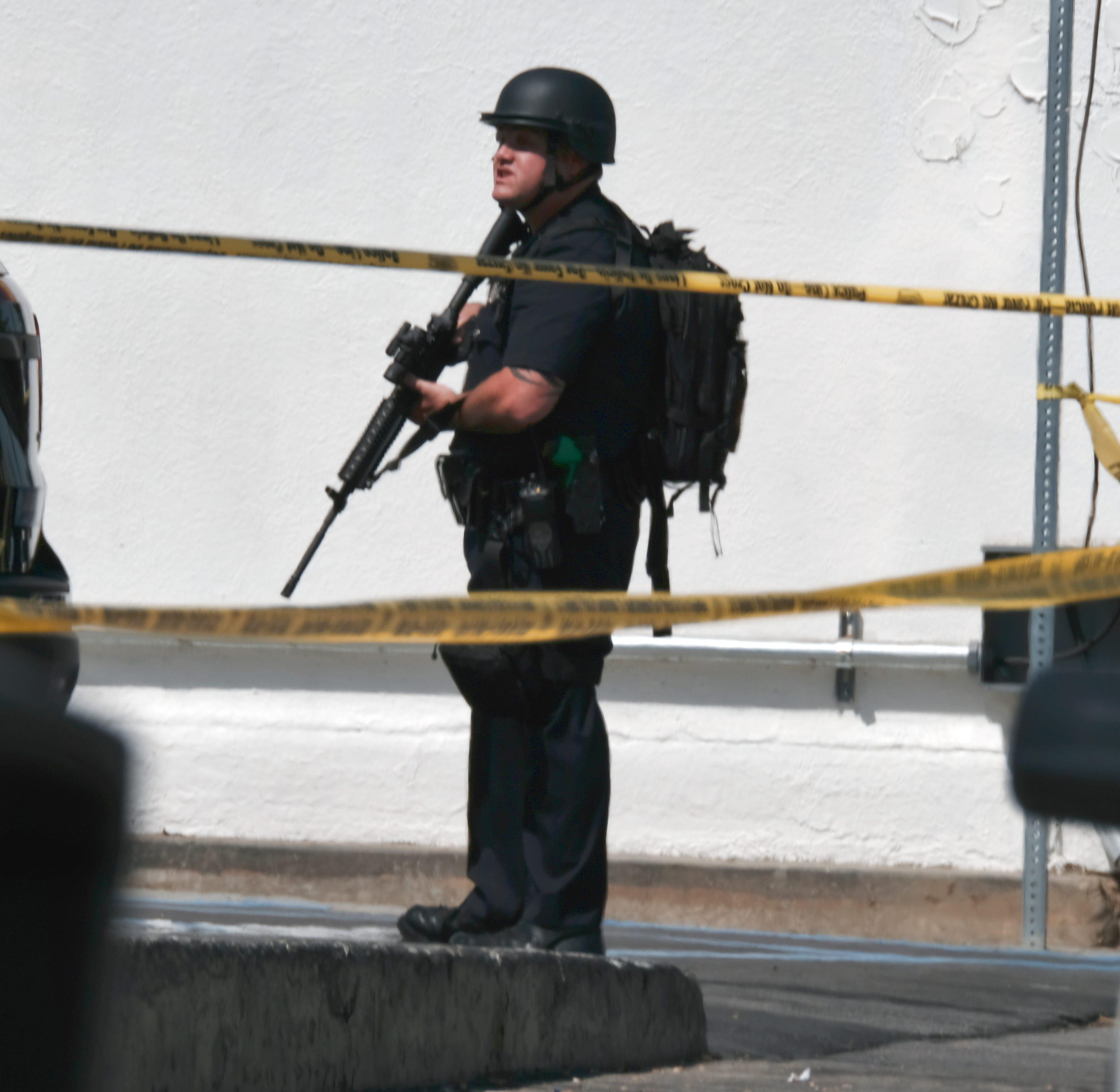Shooting hurts 2 near Van Nuys charter school