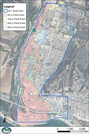 A project to rehabilitate 2.65 miles of a levee along the Ventura River is moving forward with the design and construction phase.