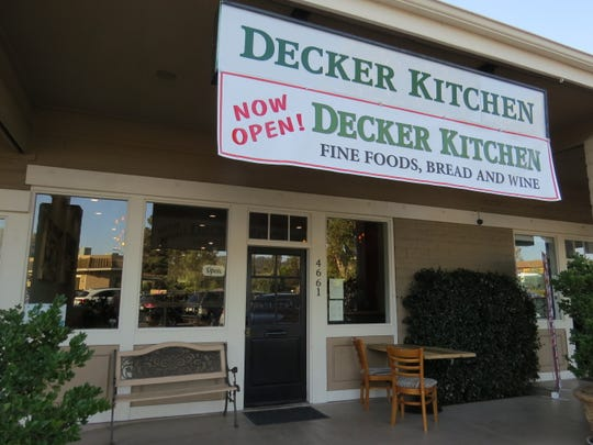 Decker Kitchen is at 4661 Lakeview Canyon Road in Westlake Village. The address was formerly occupied by Etorna Restaurant and Aunt Lefty's Italian Kitchen.