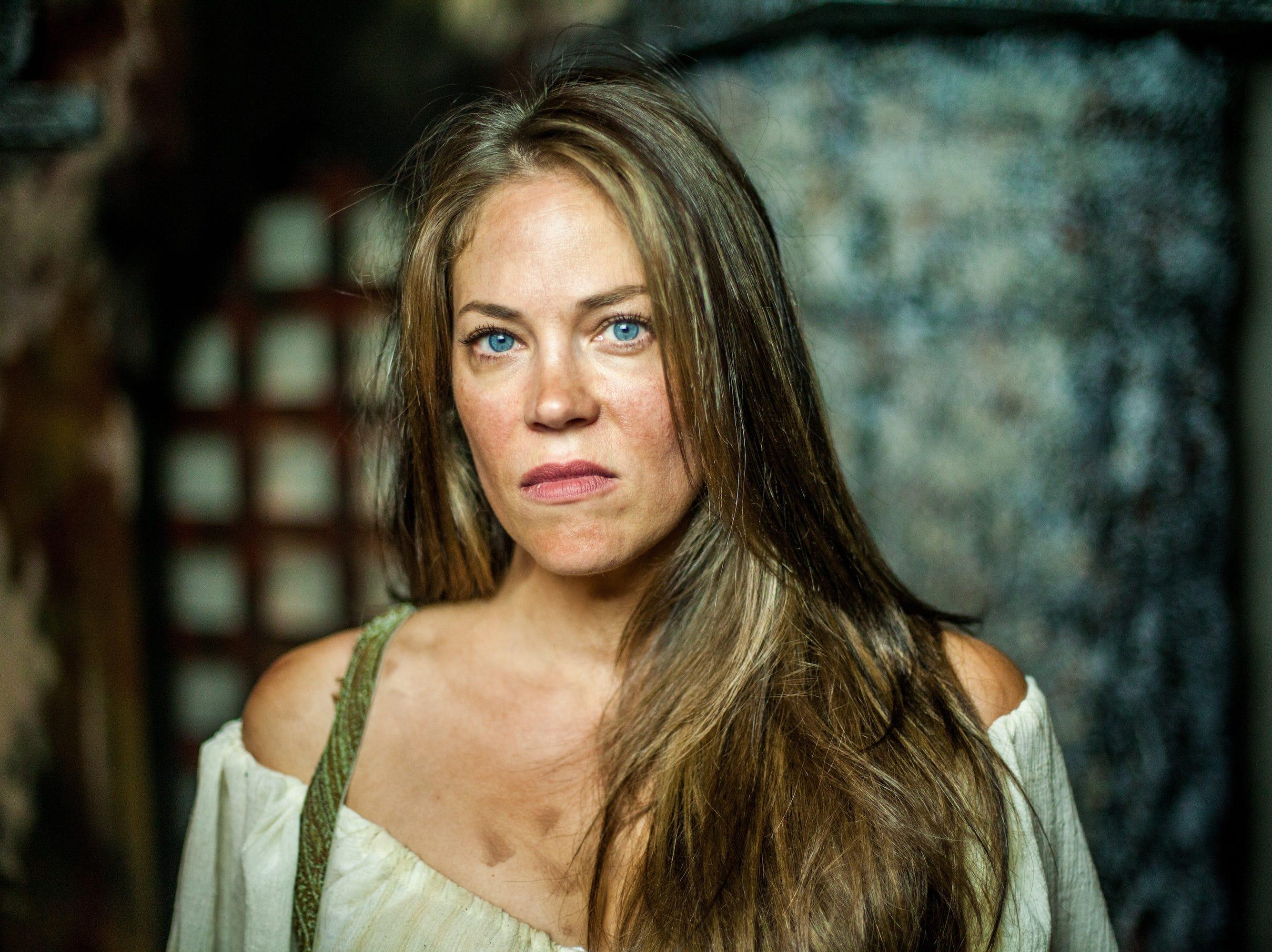 "Laura Dekkers plays Aldonza in Ojai Performing Arts Theater's ""Man of La Mancha,"" which runs through Oct. 7."