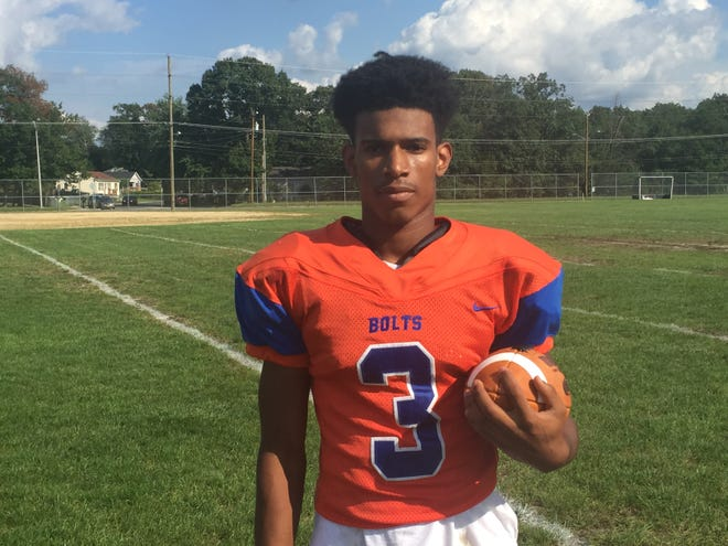 Millville's Cartier Gray is a four-year starter for the Thunderbolts' defense.