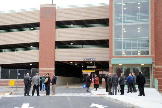 Cumberland County NJ courthouse parking garage
