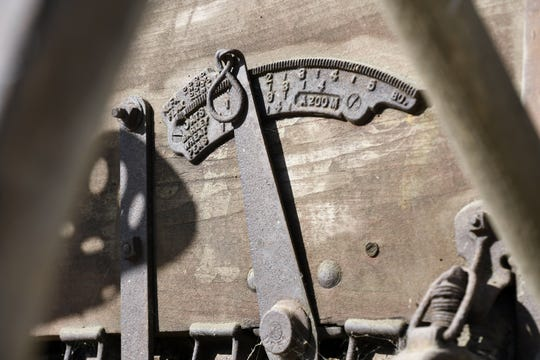 Golden West High School students will work to restore an antique grain drill for the Tulare County Museum.