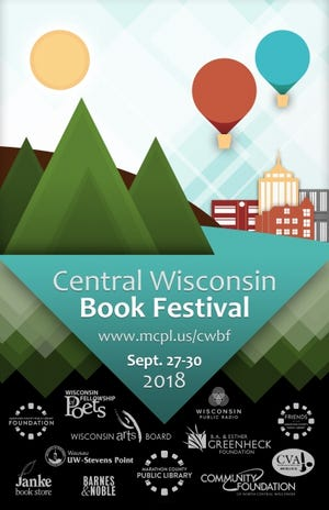 Central Wisconsin Book Festival poster