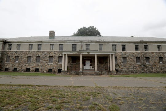 Wilbur Hall, one of the long boarded up, decrepit buildings on the campus of Letchworth Village in Stony Point Sept. 21, 2018. Stony Point Supervisor Jim Monaghan gave an update on the status of plans to develop the site. The plans would include knocking down several of the boarded up buildings, including Wilbur Hall.