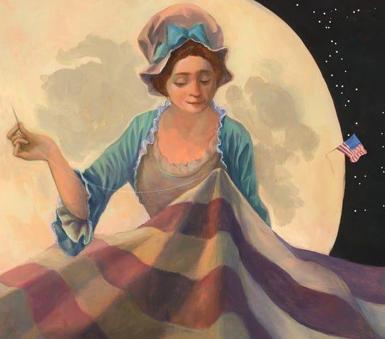 A Children's America, work by Elizabeth Sayles