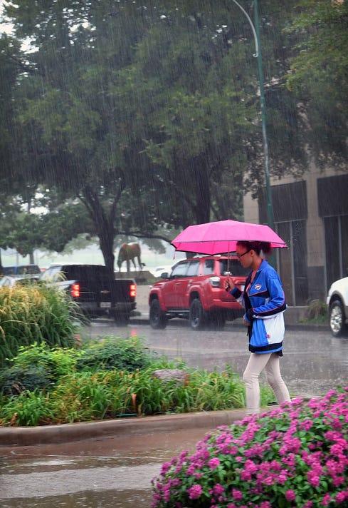 Rain Friday 9 21 1