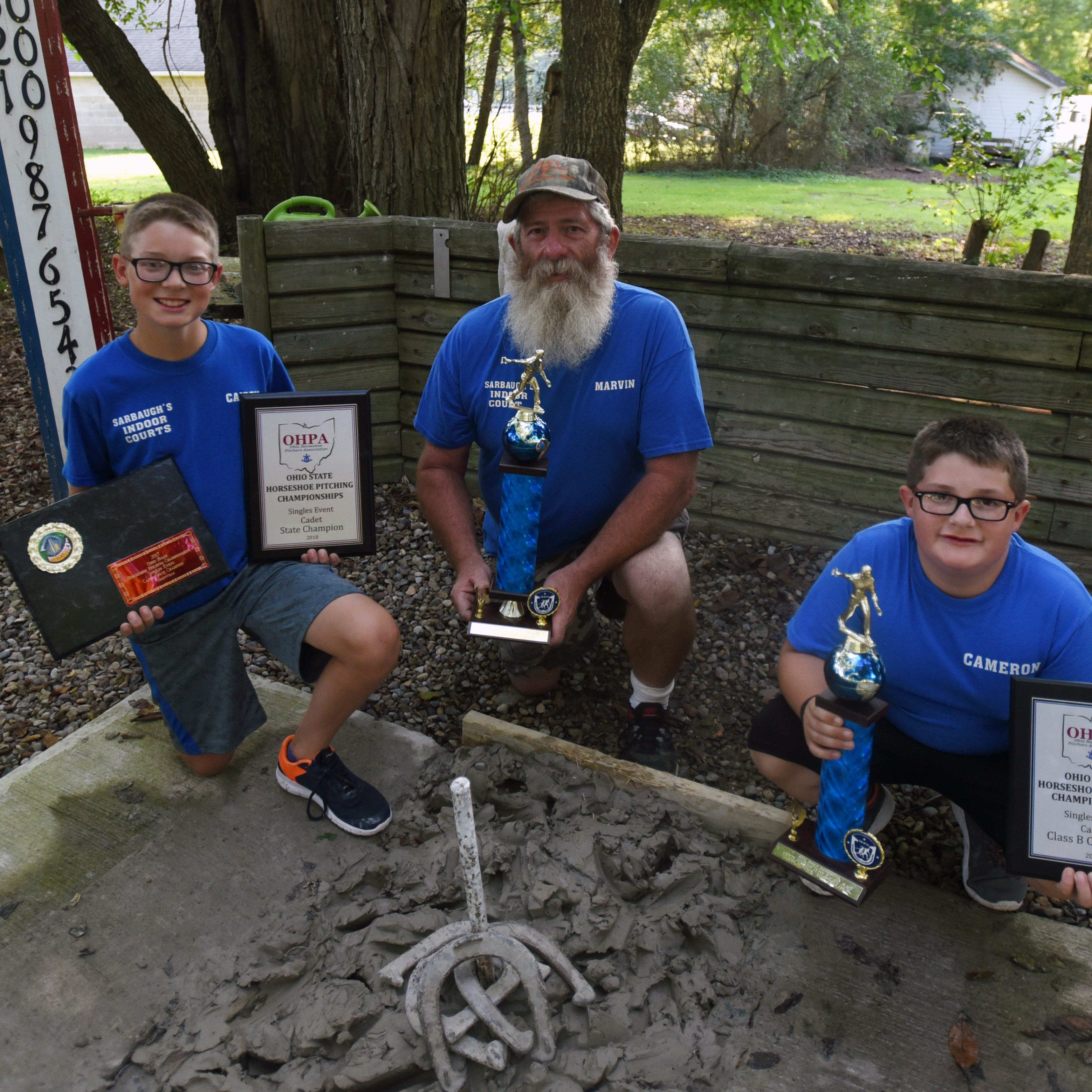 Horseshoes are more than a family hobby