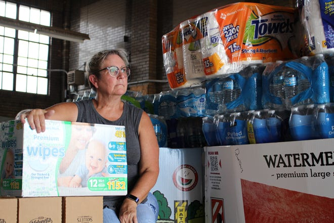 Annette Adams Kendell and her husband are collecting supplies to take back with them to North Carolina to assist the victims of Hurricane Florence.