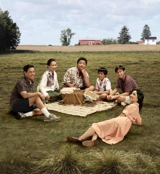 Randall Park Lucille Soong Hudson Yang Ian Chen Forrest Wheeler Constance Wu