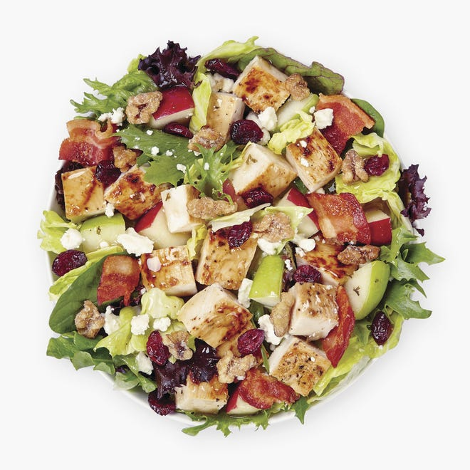 For the first day of fall, Wendy's is giving away free half-size Harvest Chicken Salads.