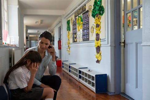 Teachers can help students who were bullied by really listening to them, YouthTruth said.