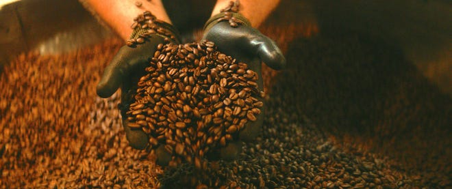 Door County Coffee makes over 75 different coffee blends.