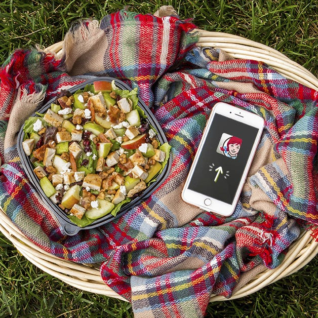 Wendy's giving away free salad through Oct. 7 with its smartphone app
