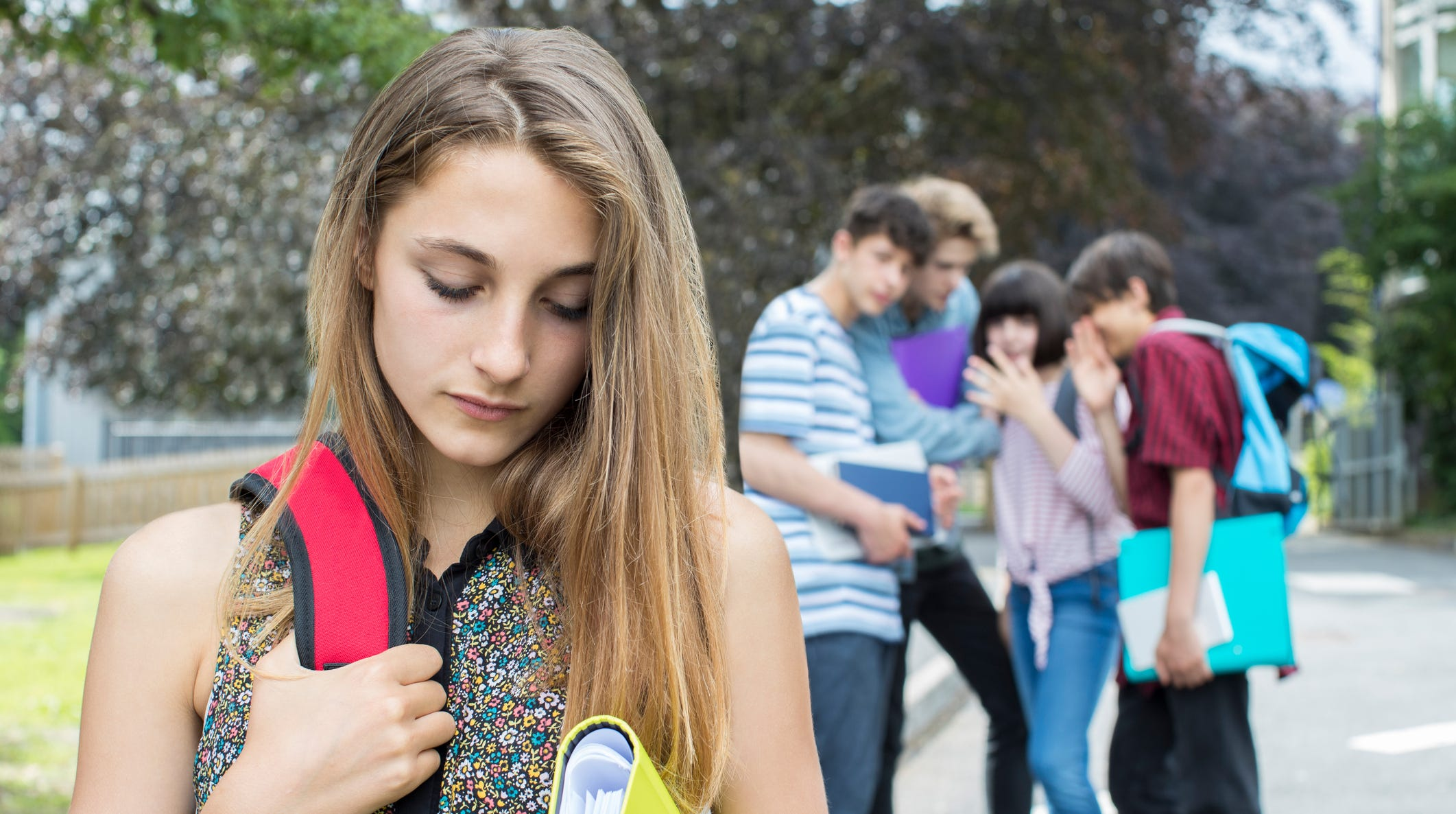 A third of students say they were bullied last school year, according to a report released today by nonprofit group YouthTruth.