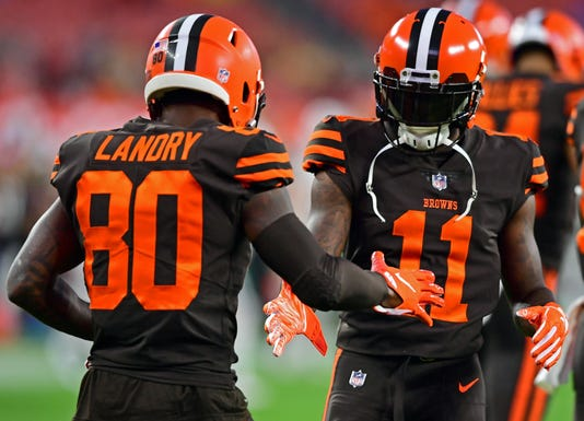 bda856449d7 Cleveland Browns debut Color Rush uniforms after years of waiting
