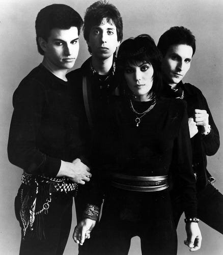 Joan Jett & the Blackhearts in an undated photo. The band formed in 1979.