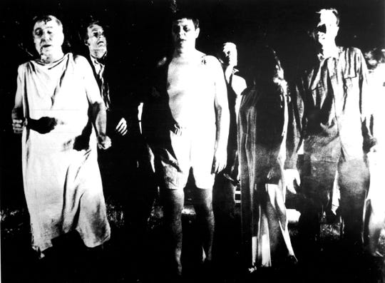 "Horror classic ""Night of the Living Dead"" turns 50 this week."