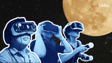 You are cordially invited to the moon in 2023! Elon Musk's company, SpaceX, has unveiled plans to fly around the moon in VR. We explain how he's going to do it and how you can get in on the launch.