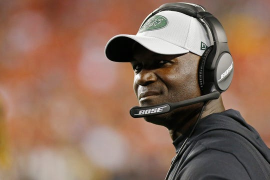 New York Jets head coach Todd Bowles said his team lost composure in Thursday's loss to the Cleveland Browns.